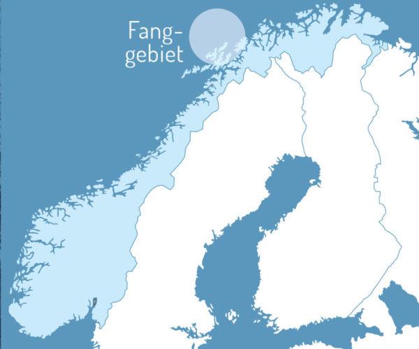 Fanggebiet Omega-3 Arktis