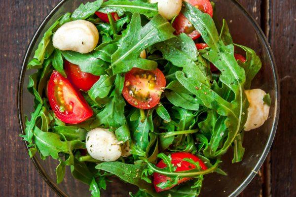 Salat mit San Omega Öl