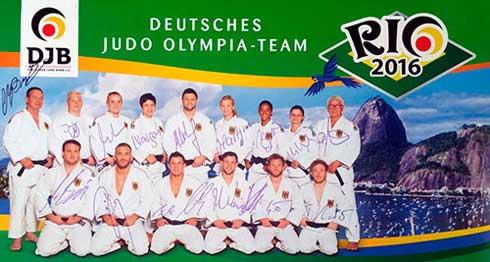 Deutsches Judo Olympia Team
