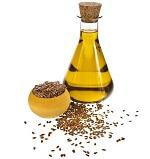 Omega-3 Lebensmittel_Leinöl ist reich an der pflanzlichen Omega-3-Fettsäure ALA