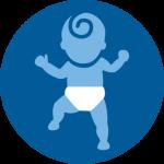 Omega-3 ist gut für die Entwicklung von Babys