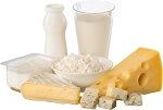 Omega-6 Lebensmittel_Milchprodukte wie Frischkäse und Weichkäse sind reich an Omega-6-Fettsäuren